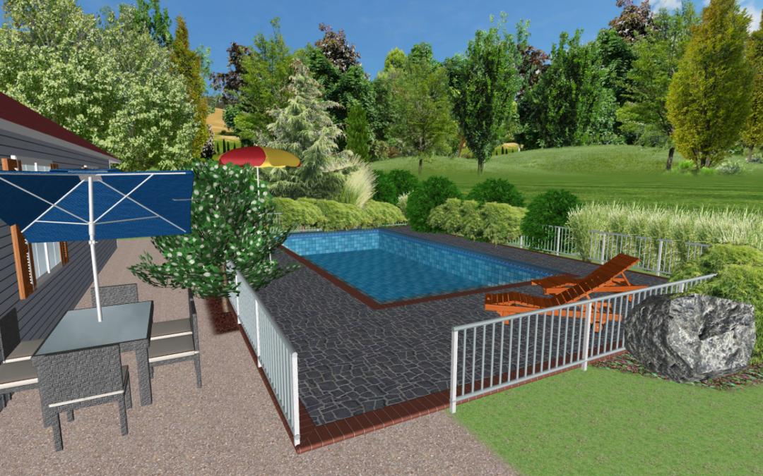 Pool – växtförslag och skisser